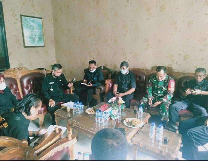 Rapat Koordinasi PT.BFMI Sukajaya dan Tiga Kepala Desa di Kec.Sukatani